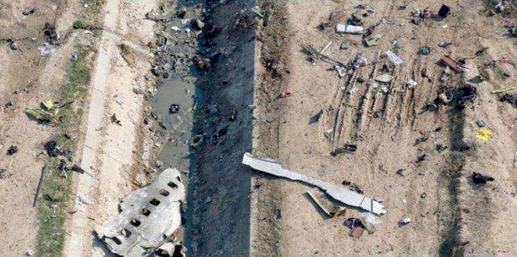 تقرير إيران النهائي يعزو إسقاط الطائرة الأوكرانية لـ«خطأ» الدفاعات الجوية